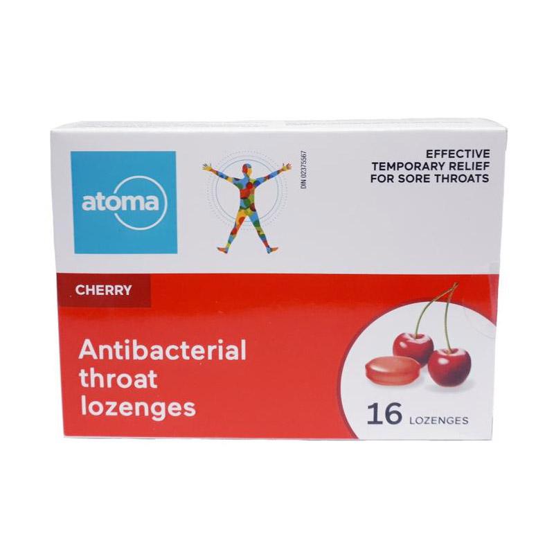 atoma cherry throat lozenges