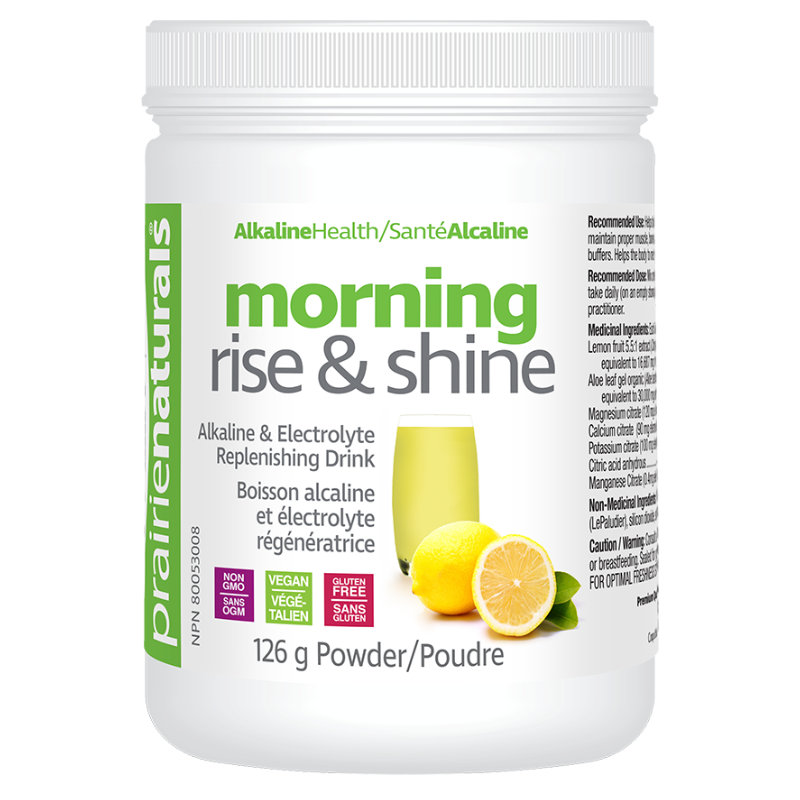 prairie naturals morning rise and shine 126g
